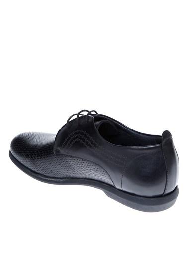 Cotton Bar Bağcıklı Ayakkabı Siyah